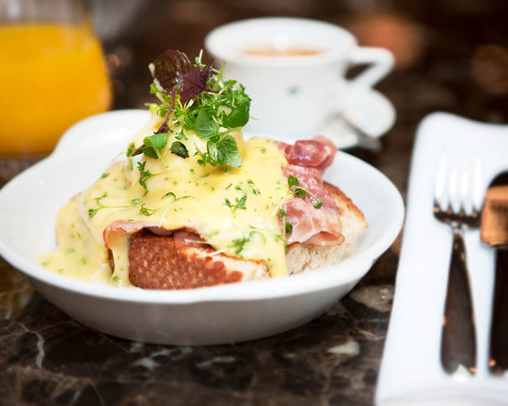 Eggs Benedict (c) The Guesthouse Vienna