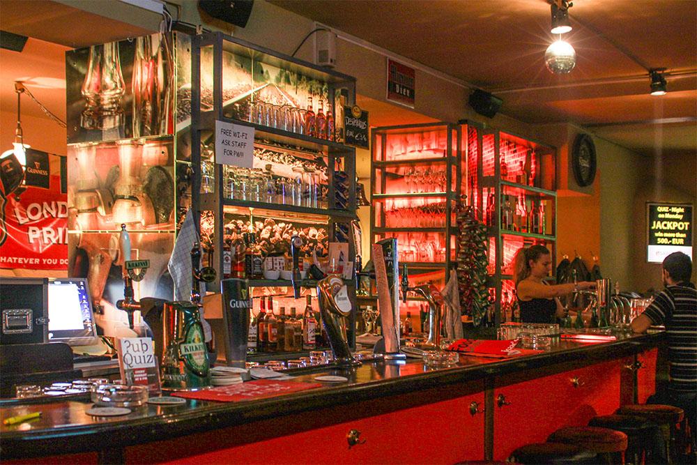 ISAAC'S International pub (c) STADTBEKANNT