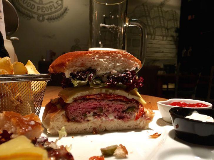 Craftmühle Hot Babe Burger (c) STADTBEKANNT