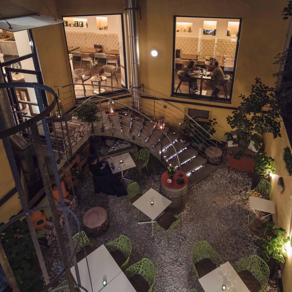 Hotel Rathaus Wein und Design - Gastgarten