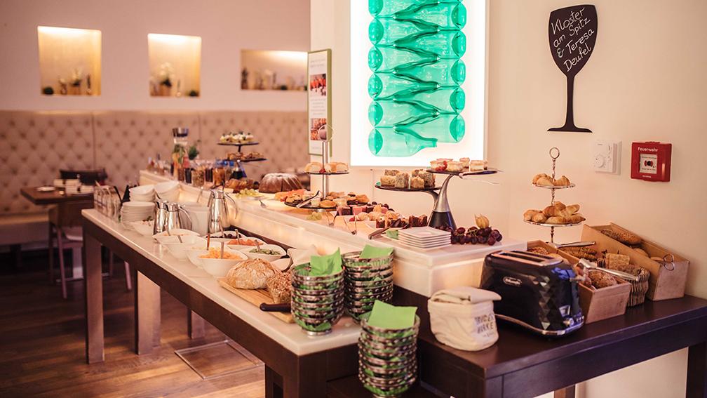 Hotel Rathaus Wein und Design - Frühstück