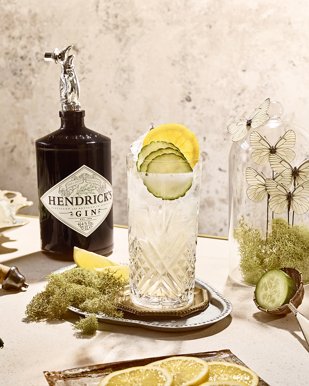 Hendrick's Cucumber Lemonade Bottle