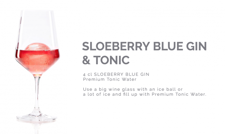 Sloeberry Blue Gin Tonic (c) Reisetbauer
