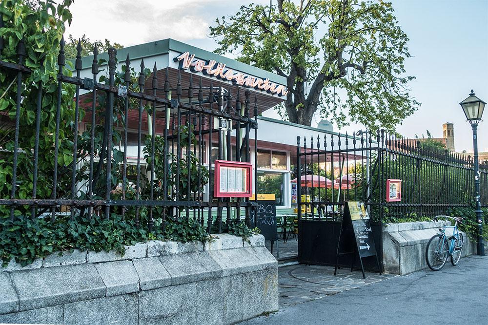Volksgarten Pavillon Stadtbekannt