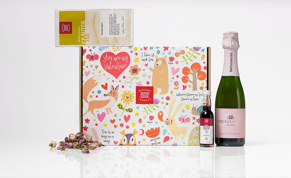 Geschenkset Be my Valentine (c) DEMMER