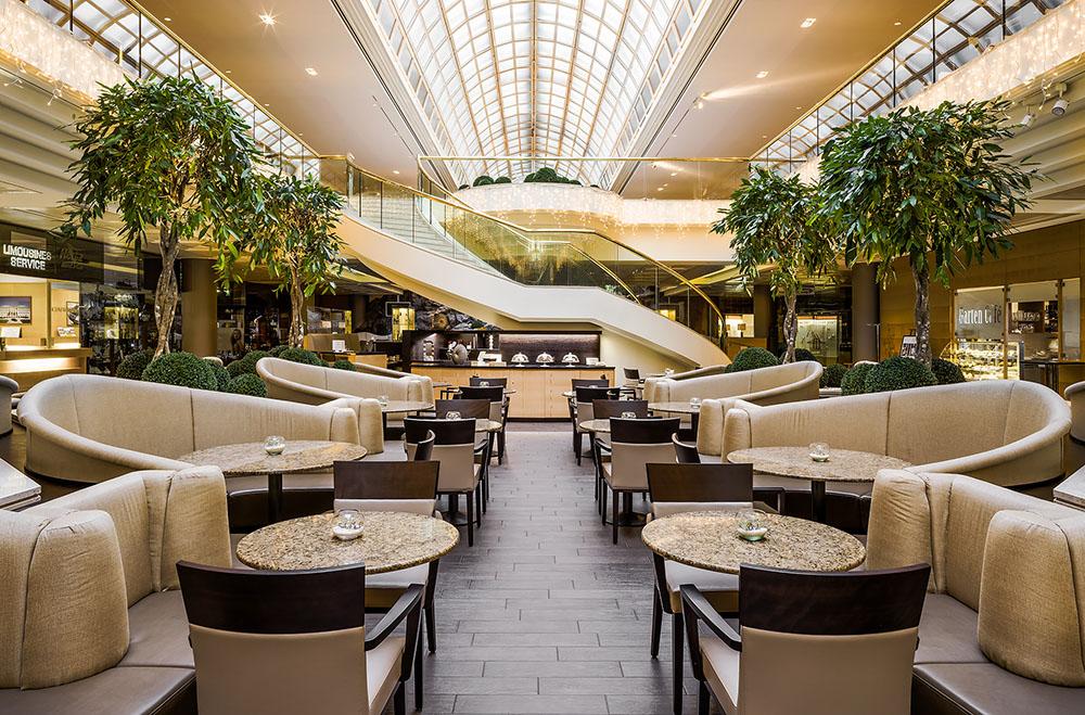 Garten Café (c) Vienna Marriott Hotel