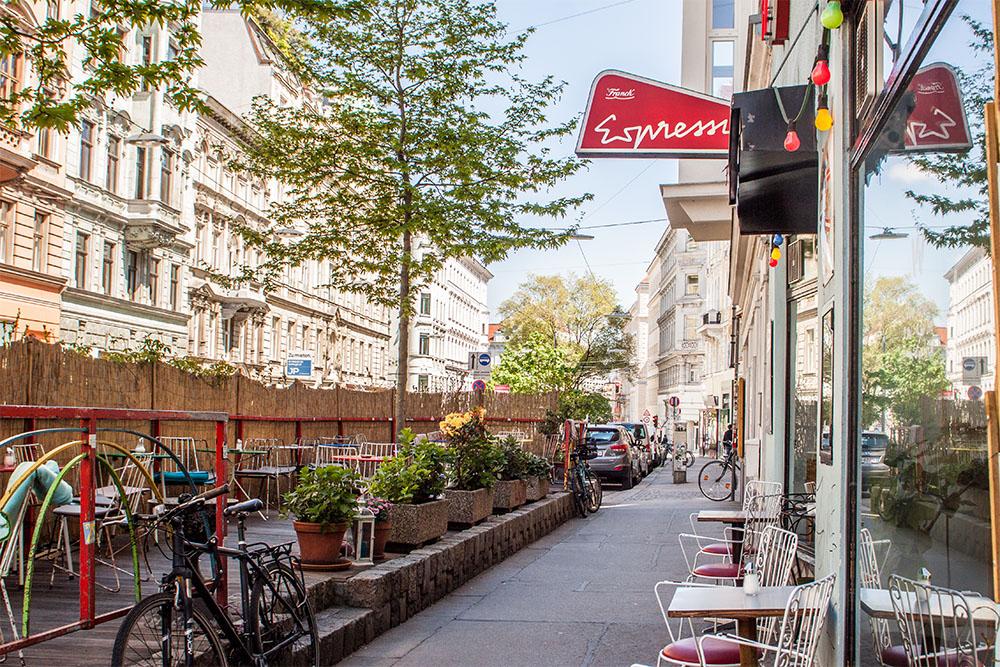 Schanigarten Espresso (c) STADTBEKANNT