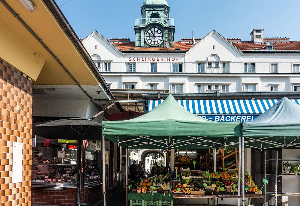 Floridsdorfer Markt - Schlingermarkt (c) STADTBEKANNT