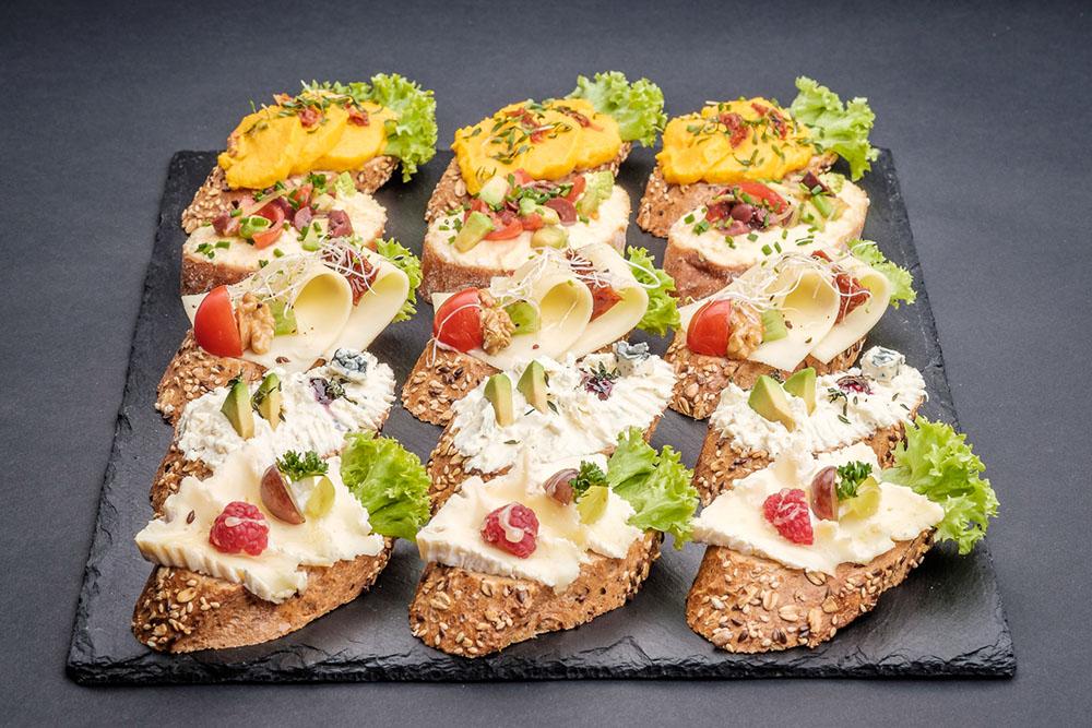Hnutas Gourmet Mix vegetarisch